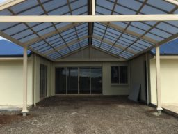 Steel Carport - Ideal Pergolas and decks