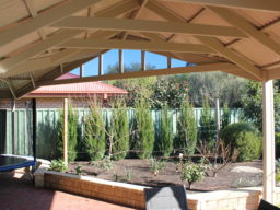 Gable Pergola - Ideal Pergolas and decks