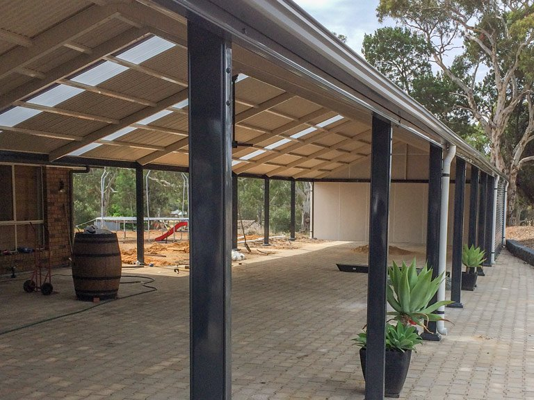 Home Steel Pergola - Ideal Pergolas and decks